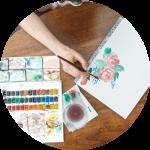Team building activities Painting class