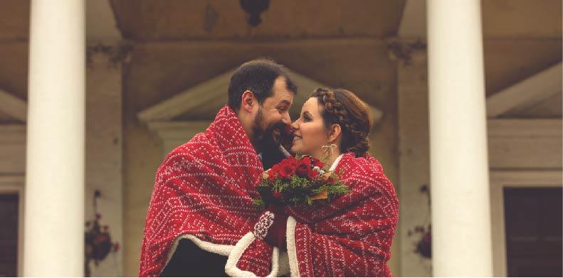 Couple in Blanket