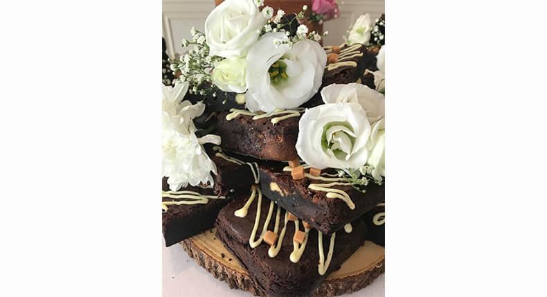 Wedding Brownie Cakes