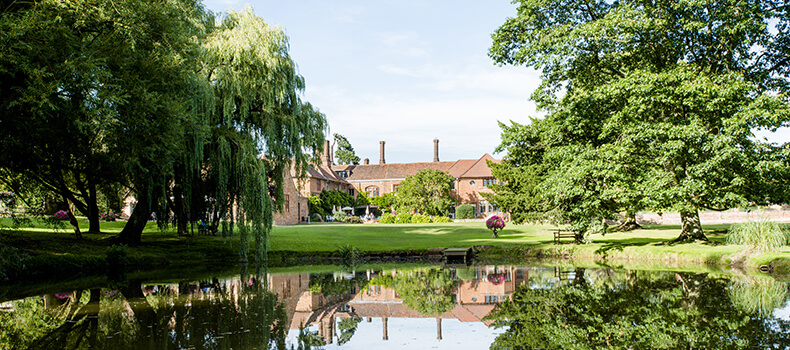 Seckford Hall gardens