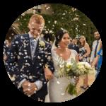 Quirky wedding ideas Confetti stand