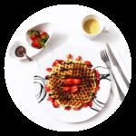 Quirky wedding ideas Waffle Bar