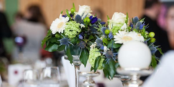 Thistle wedding flowers