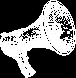 Activities illustration megaphone 2